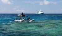 水面无人机(ASV)用于评估珊瑚礁的气候变化