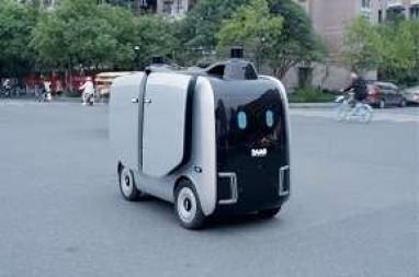 机器人接管末端物流成现实,双11浙大进入纯机器人送货模式