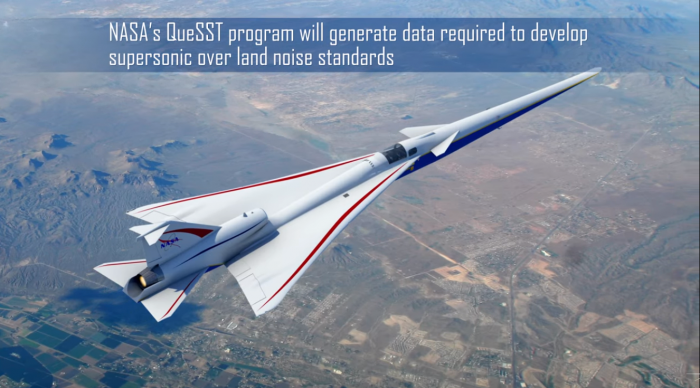 """NASA计划在德克萨斯州进行""""安静型超音速""""飞行试验"""