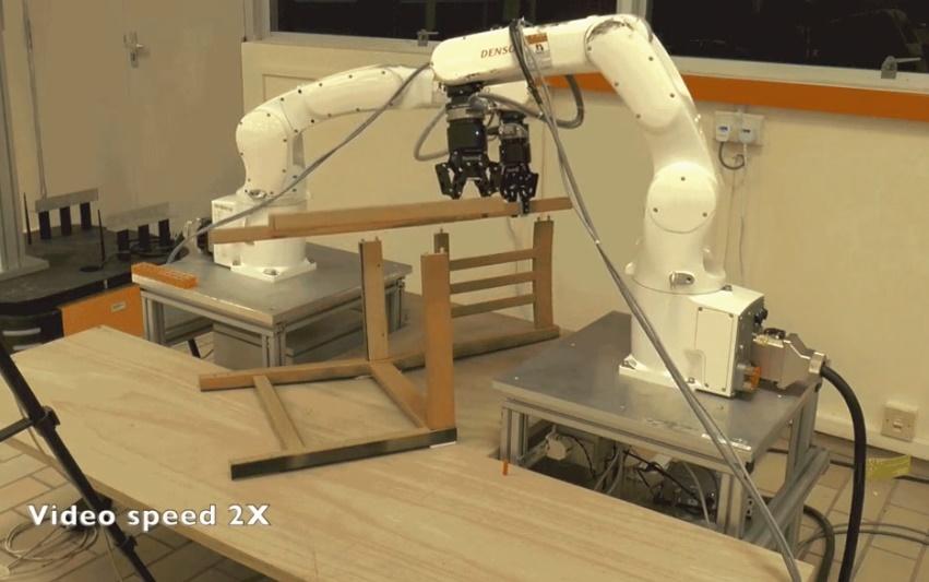 机器人组装一把宜家椅子速度比人更快吗?
