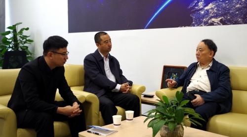 中国工程院院士沈昌祥为大数据院士工作站指导工作