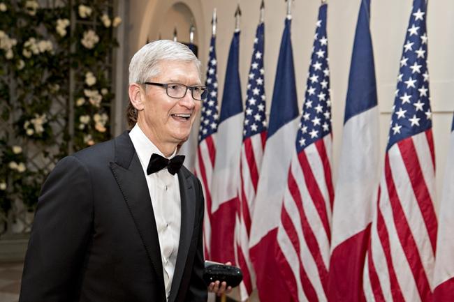 苹果CEO库克将与特朗普会面 希望阻止中美贸易战