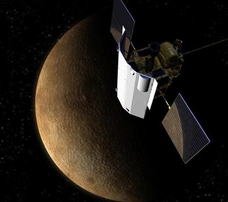 """2015年4月30日水星探测器""""信使号""""结束使命"""
