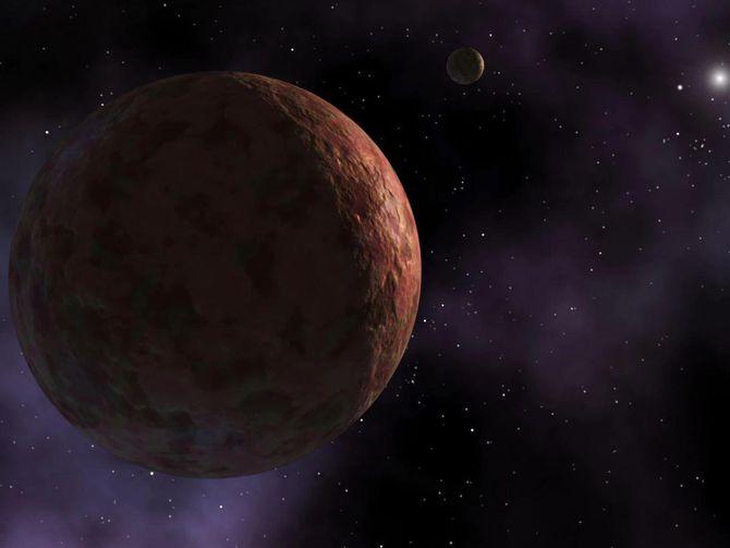 """数千颗小行星的集体引力可能导致""""第九行星""""距太阳系越来越远"""