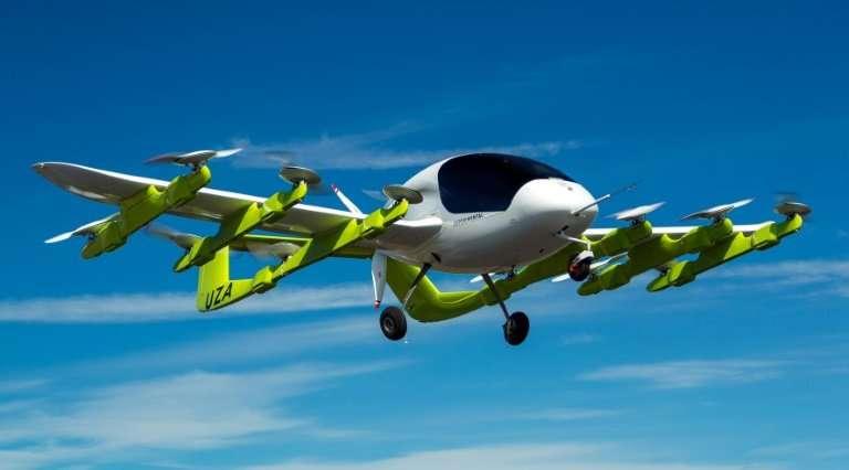 Google创始人支持的飞行汽车项目启动提供测试航班