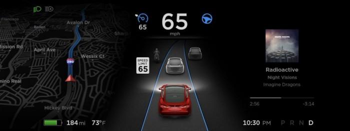 特斯拉第9版软件8月推出 将开启全自动驾驶功能