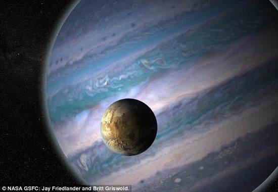 科学家称121颗系外行星的宜居卫星潜在外星生命