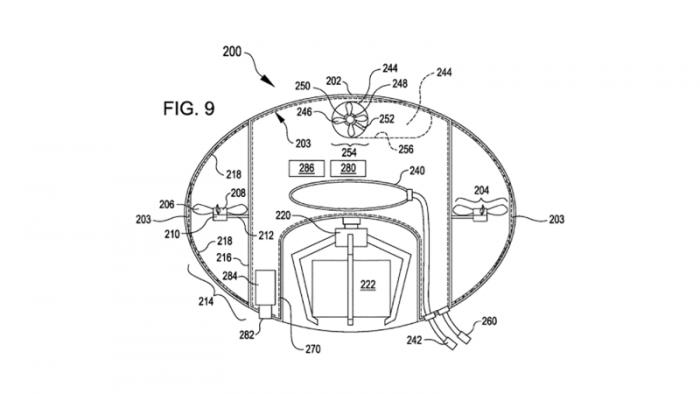 电商巨头亚马逊申请泡泡状无人机货运无人机专利