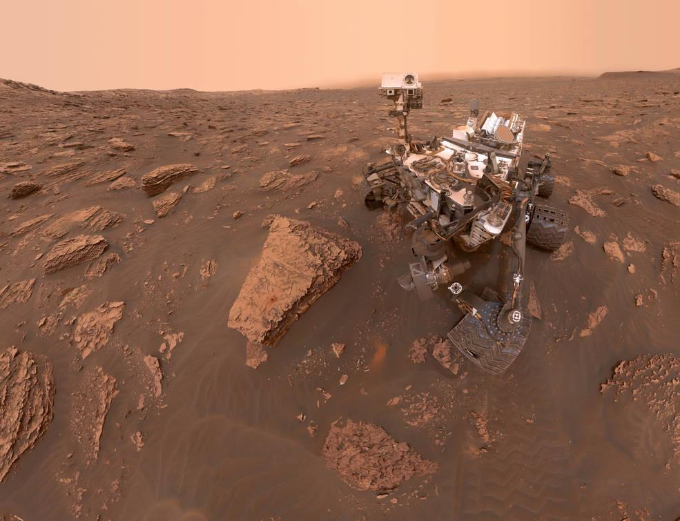 火星沙尘暴的规模增大 NASA机遇号失联/好奇号仍运作