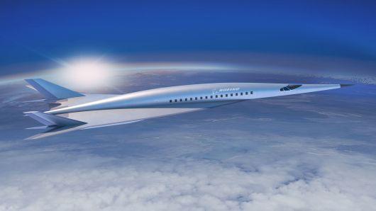 波音研发超音速客机 未来三小时飞越太平洋