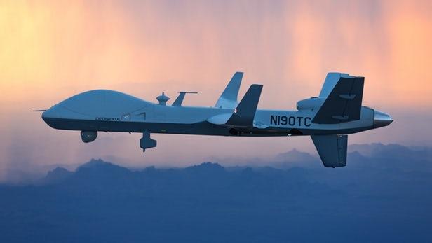 SkyGuardian无人机将进行跨大西洋飞行测试
