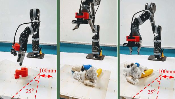 昆士兰科技大学的新方法能提升机器人的抓取能力
