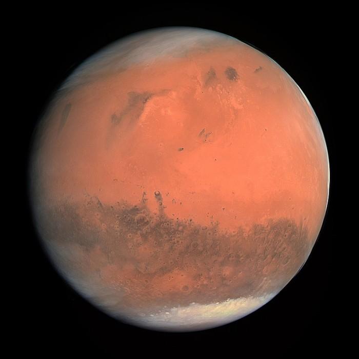 火星外壳何时形成?新研究揭开面纱:早地球一亿年