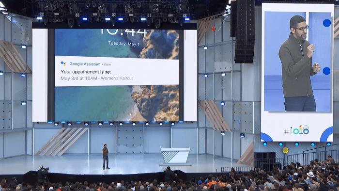 谷歌公开其人性化的Duplex 人工智能测试计划