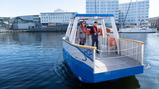无人驾驶电动渡轮原型船将在挪威投入使用