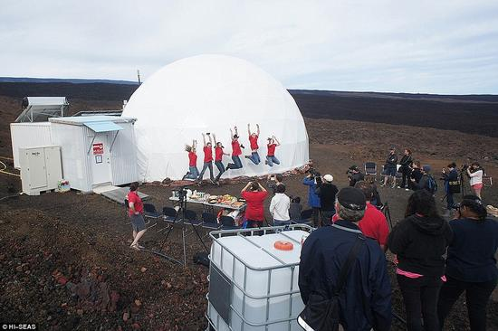 模拟登陆火星实验问题不少 去火星人类还要学习太多