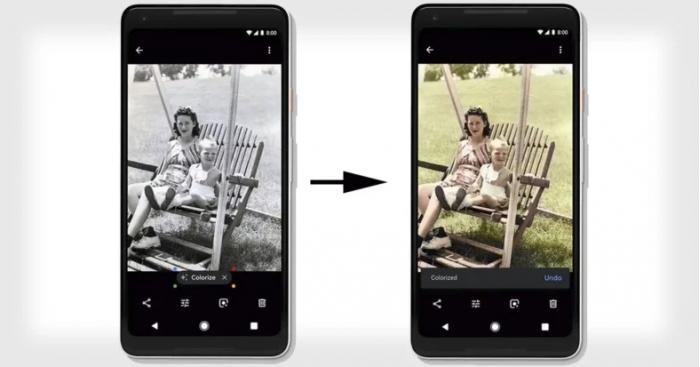 """谷歌的""""涂色机器人"""" 在神经网络学习后能自动给黑白视频上色"""