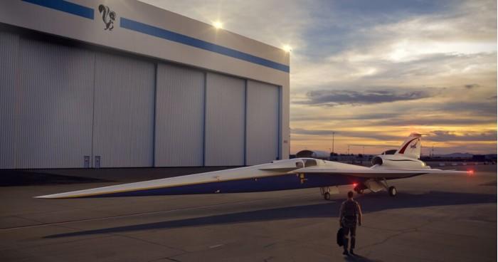 美国NASA在居民区测试超音速飞机 收集公众对音爆的反馈意见