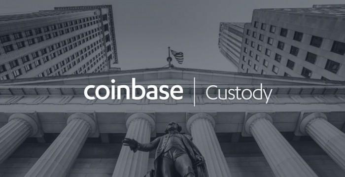 Coinbase的加密数字货币资产托管服务正式上线运营