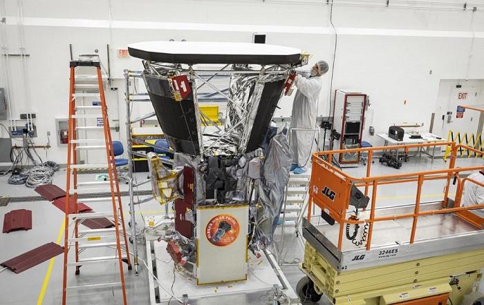 NASA帕克太阳探测器新进展 热防护系统可承受2500℉高温