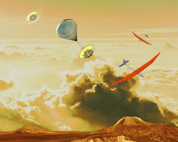 NASA想打造超强无人机:能在金星表面执行任务