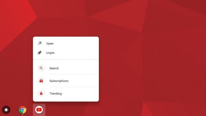 Chrome OS将引入应用快捷功能 能快速触发Android应用