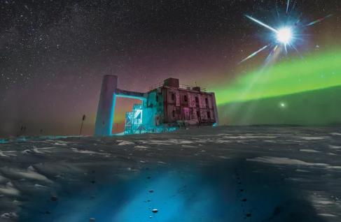 天文学家可能已经追踪到穿过地球的神秘高能粒子的来源
