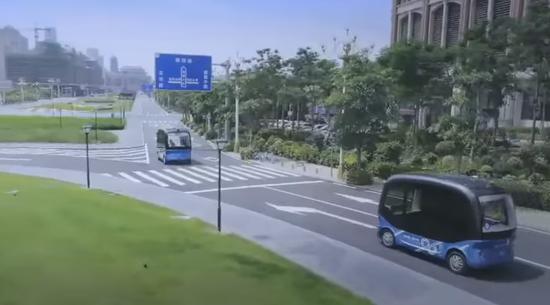 外媒:百度支持的全自动驾驶公交车将很快上路