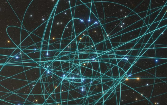 科学家对银河中心巨型黑洞周围的恒星S2轨迹追踪 验证了爱因斯坦相对论