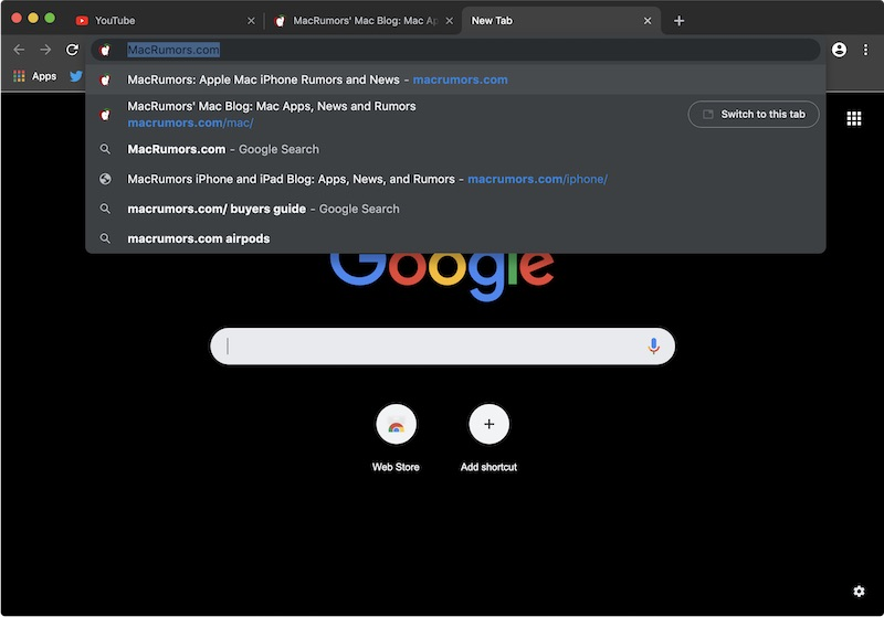 Chrome 浏览器最快明年初支持 macOS Mojave 深色模式