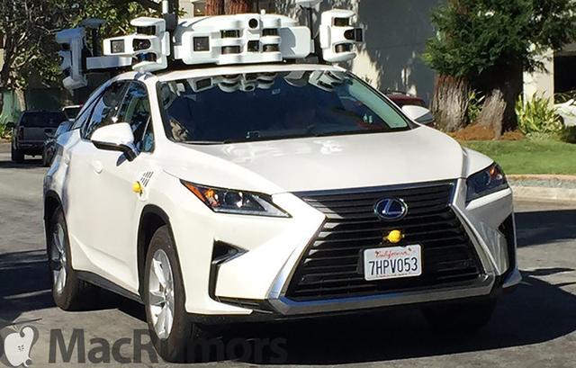 加州自动驾驶汽车测试车增至658辆 苹果72辆仅排第3