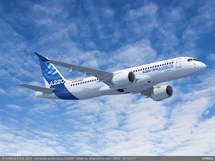 空中客车宣布将扩充A220机型生产线以提升产能