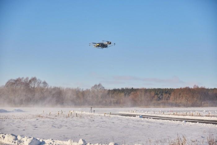 重型搬运无人机Skyf最新演示飞行或已创下吉尼斯世界纪录