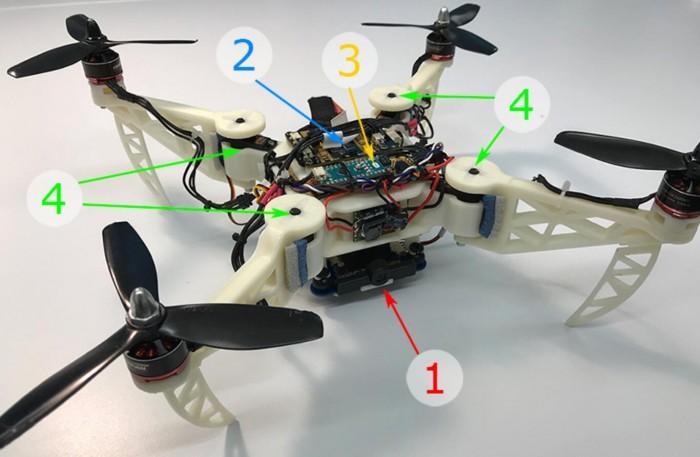 地震救援无人机解锁新技能:折叠机翼通过狭窄通道