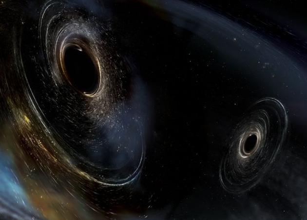 天文学家探测到引力波:由迄今为止最大黑洞合并产生