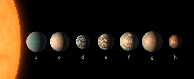 """天文学家与阿里合作寻找""""第二地球"""" 39光年外或有生命条件"""