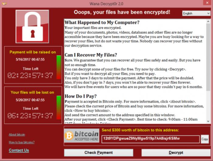 当心:勒索病毒WannaCry仍然潜藏在世界各地的电脑上