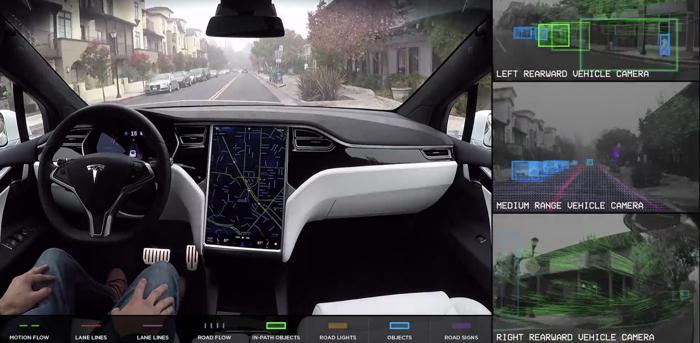 特斯拉招募员工车测试自动驾驶系统第三版硬件 明年底实现完全自动驾驶